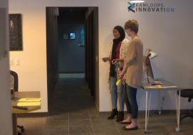 Kamloops Steminists Present at 10@10 with the Kamloops Innovation Centre